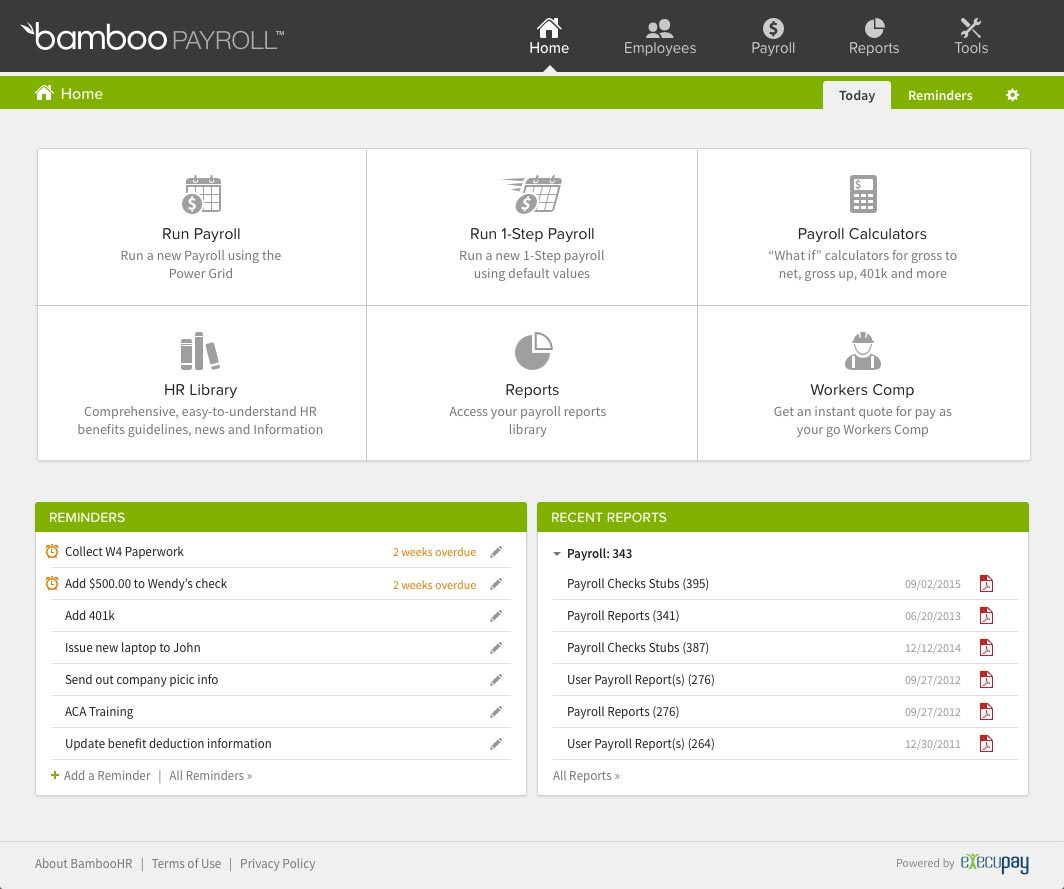 Bamboohr-software