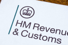 HMRC corporation tax letterhead image