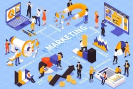 Marketing infographics image