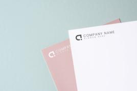 Company letterhead image