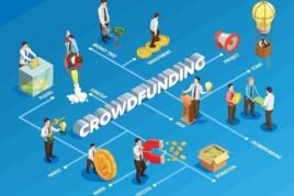 Crowdfunding graphic image