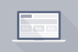 Ico logo on screen image