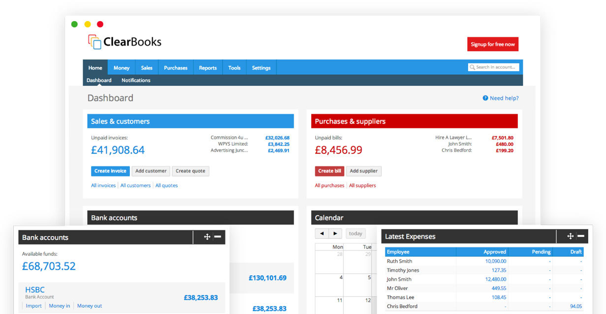 Clearbooks-software
