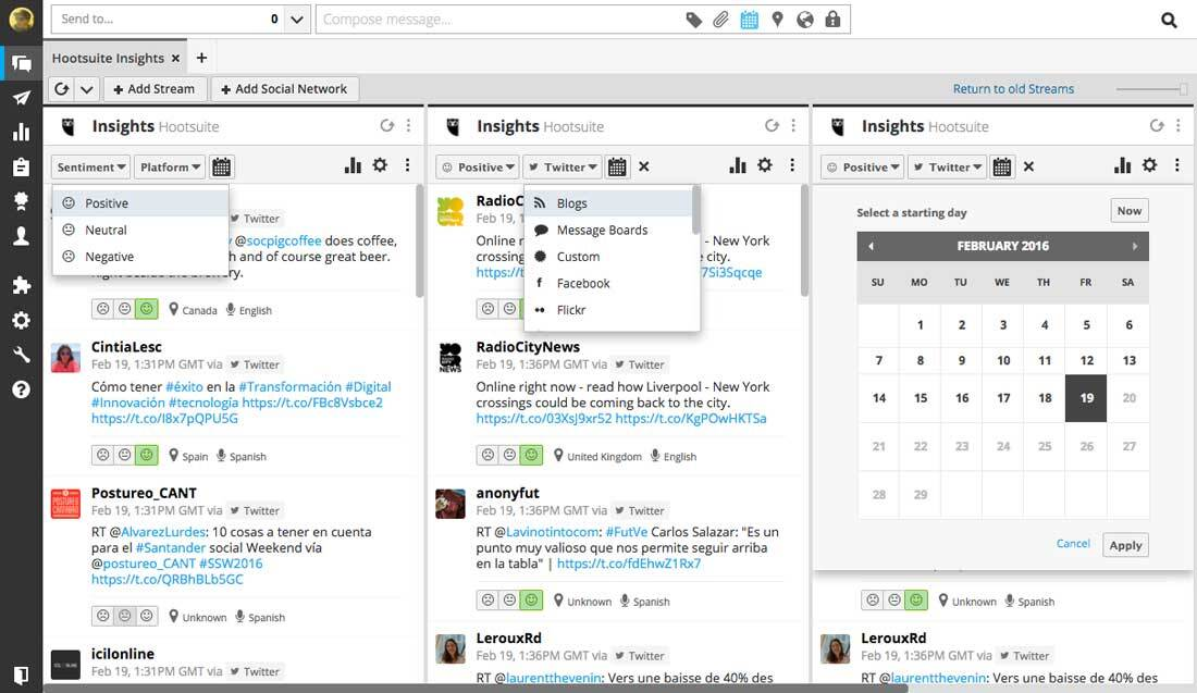 Hootsuite-dashboard